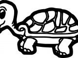 Black Tortoise Turtle Coloring Page