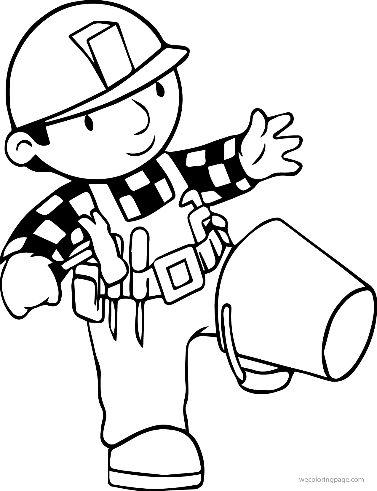 Bob The Builder Oops Coloring Page