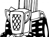 Bob The Builder Travis Tractor Coloring Page
