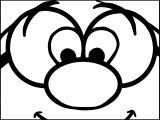 Brainy Smurf Images Coloring Page