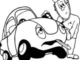 Car Doctor Coloring Page