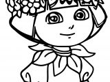 Casa De Baby Dora New Adventures Coloring Page