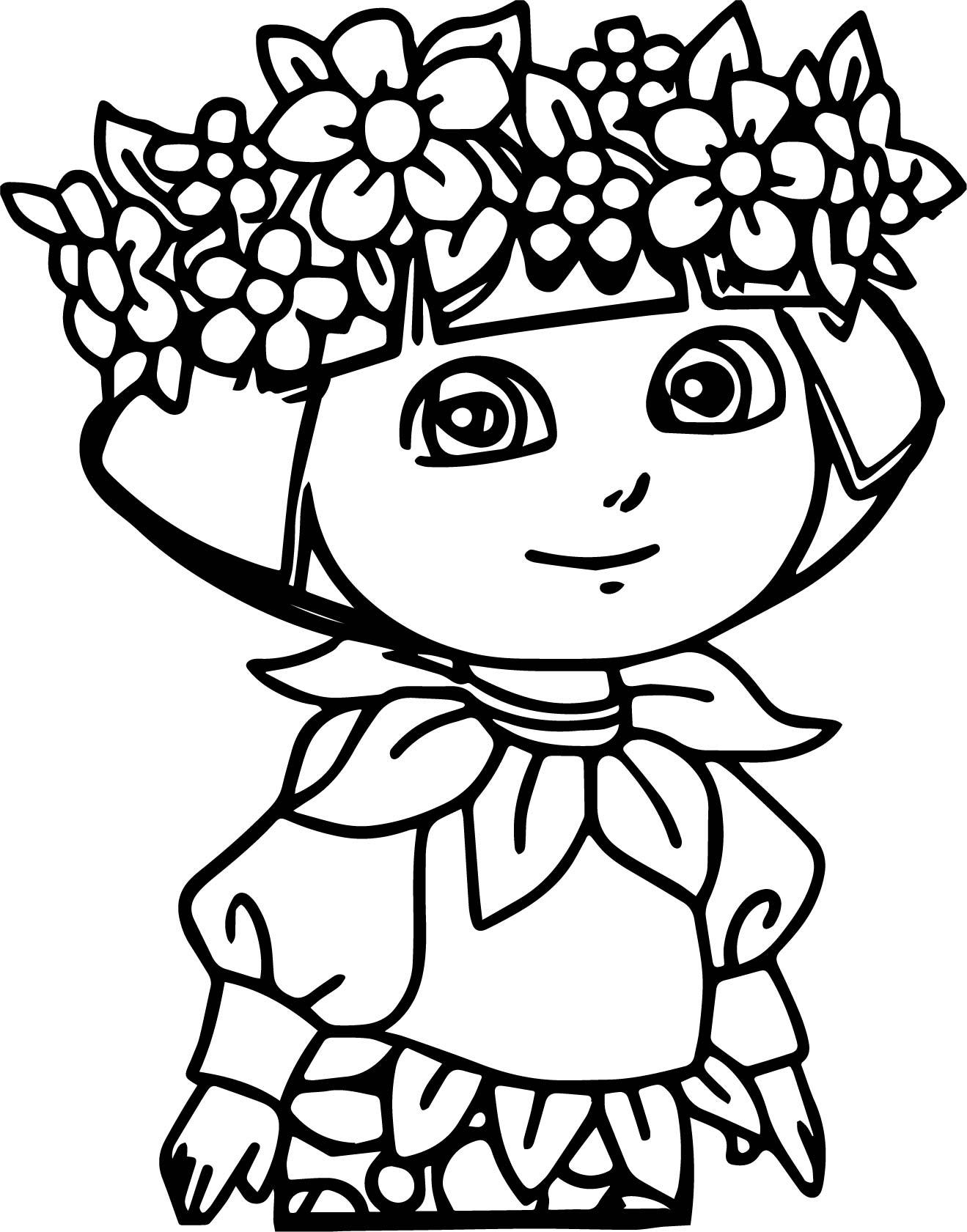 Casa De Baby Dora New Adventures Coloring Page