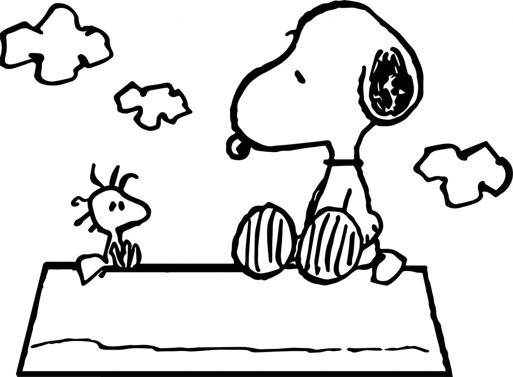 woodstock snoopy coloring pages | Celebrity Image Peanuts Snoopy Woodstock Coloring Page ...