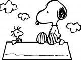 Celebrity Image Peanuts Snoopy Woodstock Coloring Page