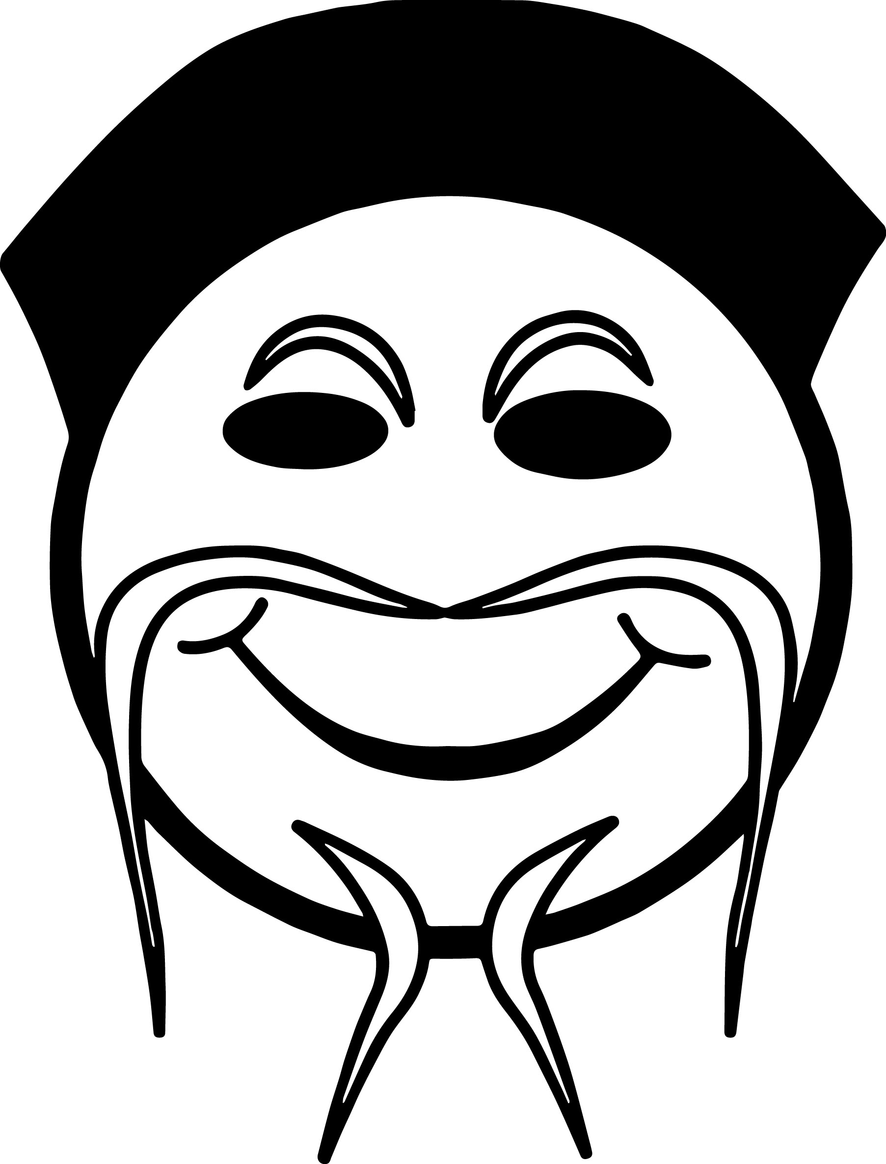 Chinese Emoticon Face Coloring Page Wecoloringpage com