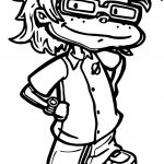 Chuckie Finster Coloring Page