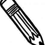 Crayon Pencil Coloring Page
