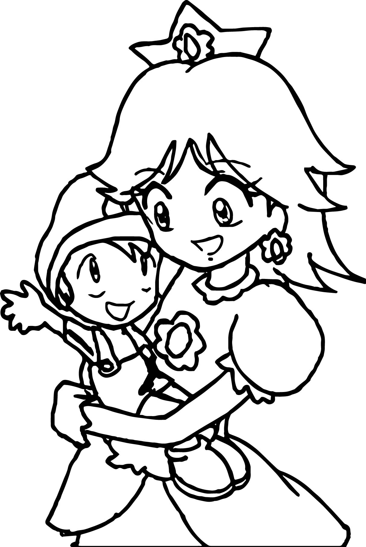 mario coloring pages as babies - photo#30