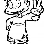 Dil Rugrats All Grown Up Coloring Page