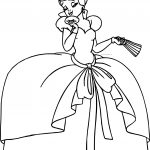 Disney The Princess And The Frog Madam Charlotte La Bouff Coloring Page