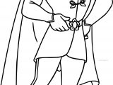 Disney The Princess And The Frog Prince Naveen Coloring Page