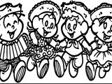 Display Turma Da Monica Festa Junina Coloring Page
