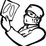 Doctor Photo Coloring Page