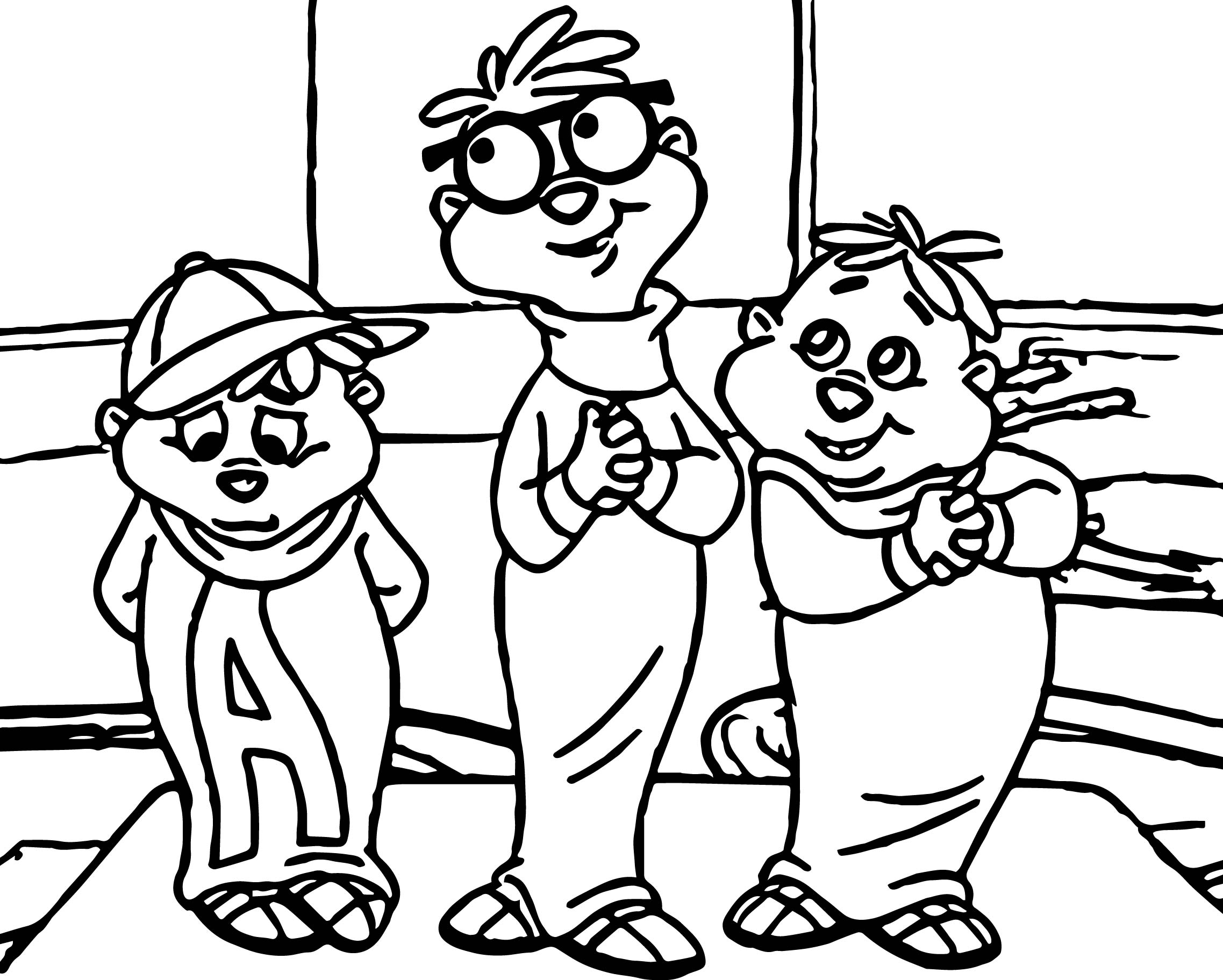 Dr Toon All Young Dudes Coloring Page