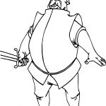 Ector Soldier Sword Coloring Page