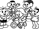 Featured Inclusion Social Turma Da Monica Coloring Page