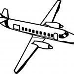 Fine Airplane Coloring Page