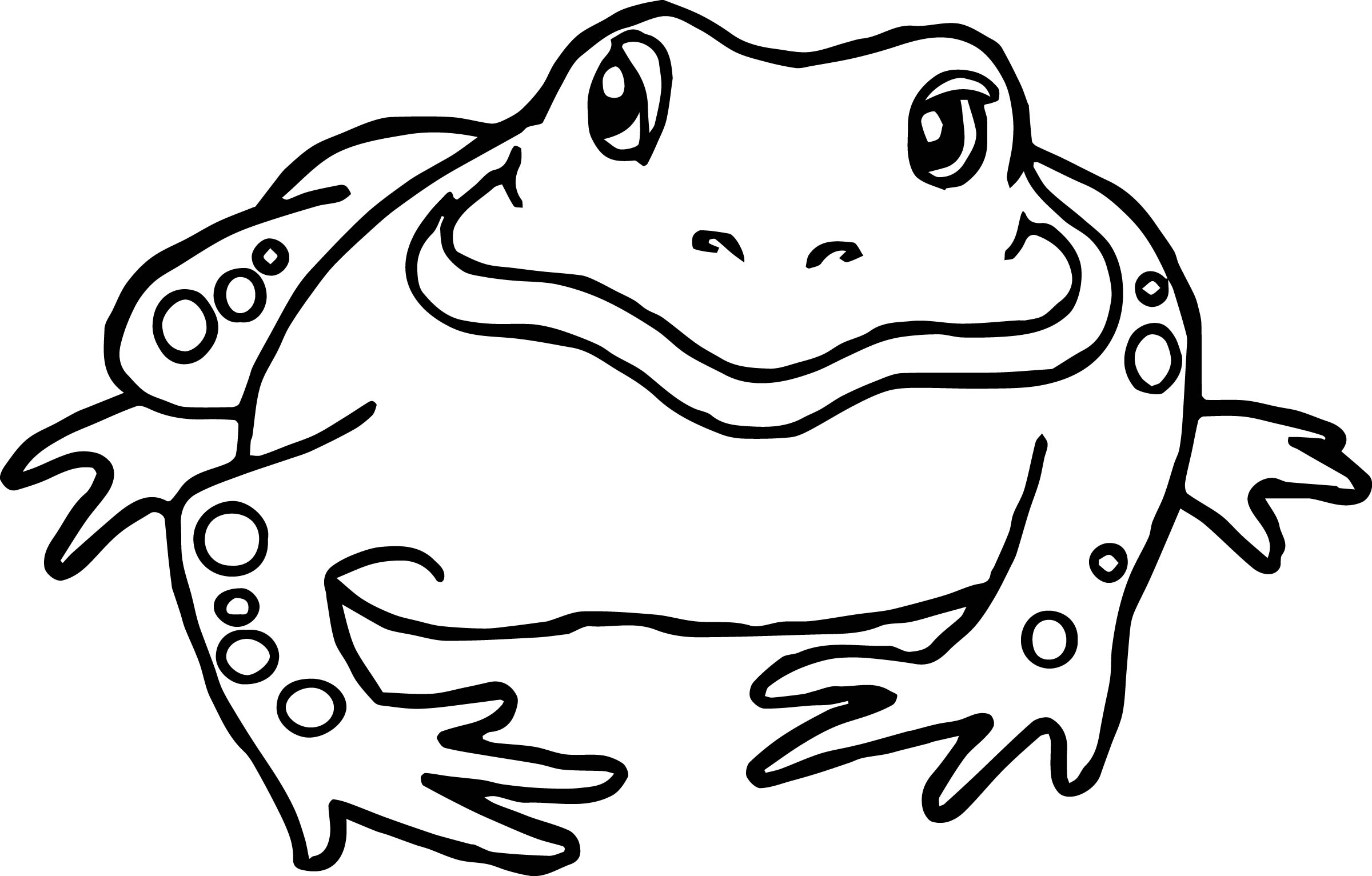 20 Free Printable Frog Coloring Pages  EverFreeColoringcom