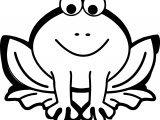 Frog Pixabella Valentine Frog Amphibian Coloring Page