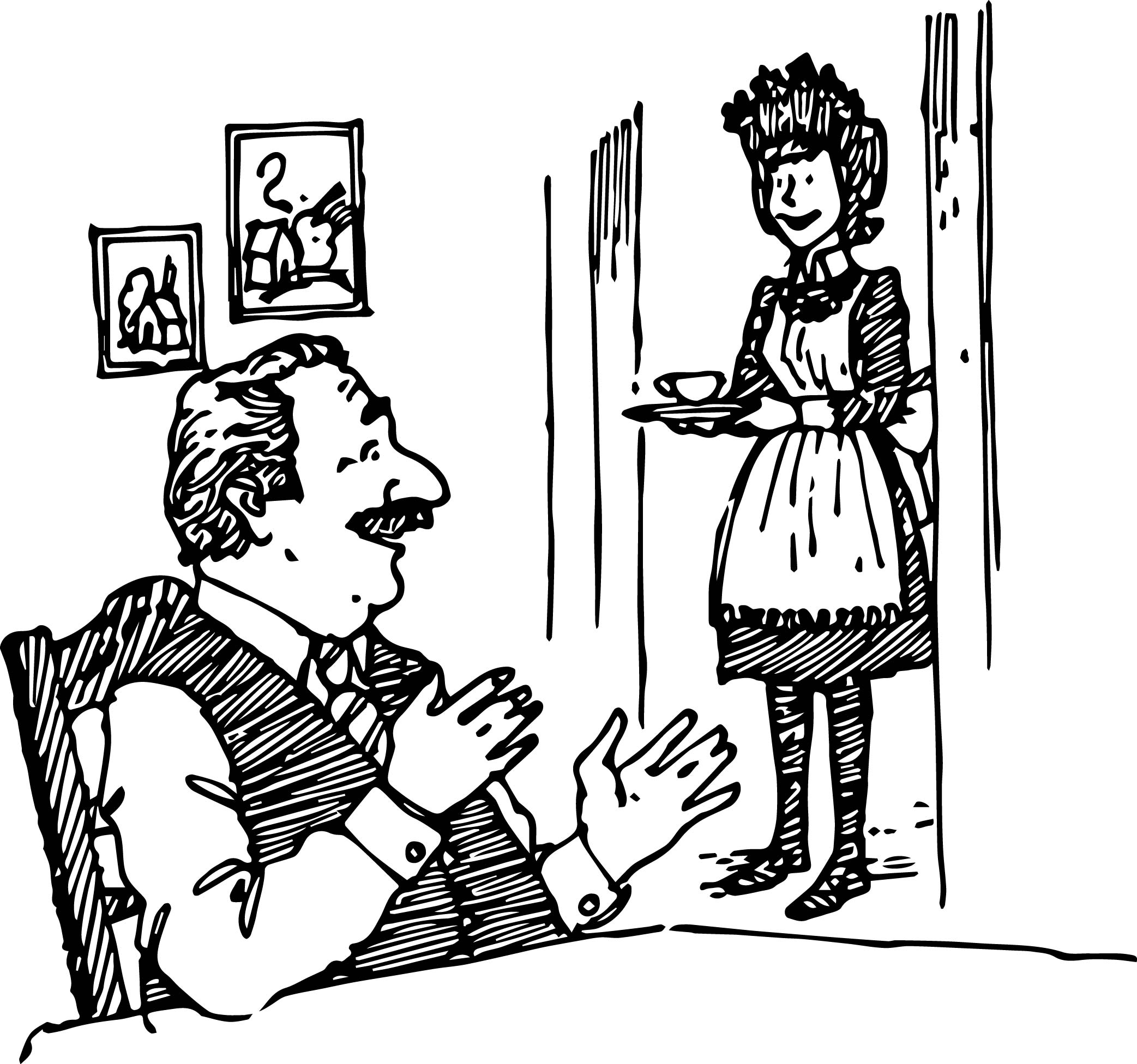 amelia bedelia coloring pages images for adults | Good Work Amelia Bedelia Coloring Page | Wecoloringpage.com