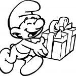 Happy Jokey Smurf Coloring Page