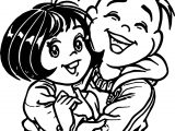 Happy Turma Da Monica Jovem Coloring Page