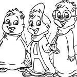 How To Draw Alvin And The Chipmunks Coloring Page