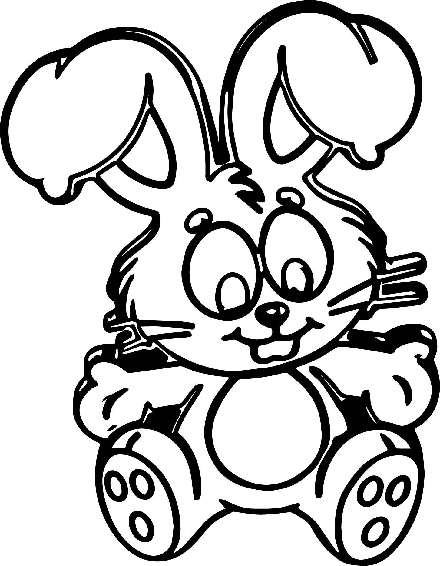 Image Turma Da Monica Sansao Bunny Coloring Page