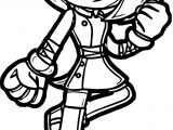 Just Amy Rose Won Coloring Page