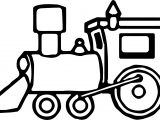 Just Train Coloring Page