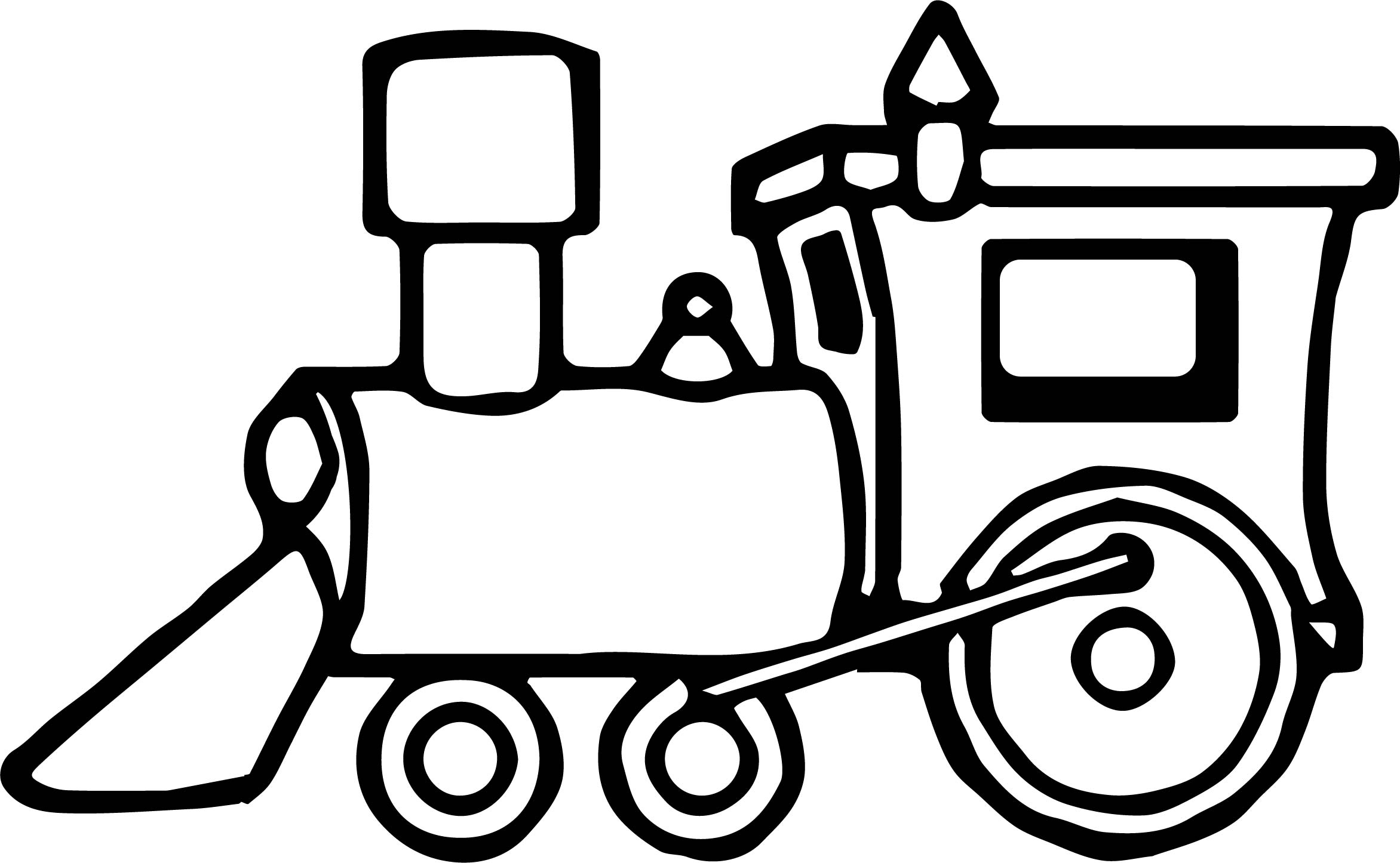 just train coloring page - Train Coloring Pages