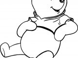 Just Winnie The Pooh Coloring Page