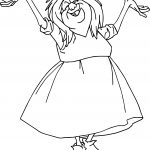 Madam Mim Coloring Page