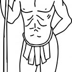 Male American Indian Coloring Page