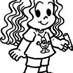 Marina Turma Da Monica Girl Coloring Page