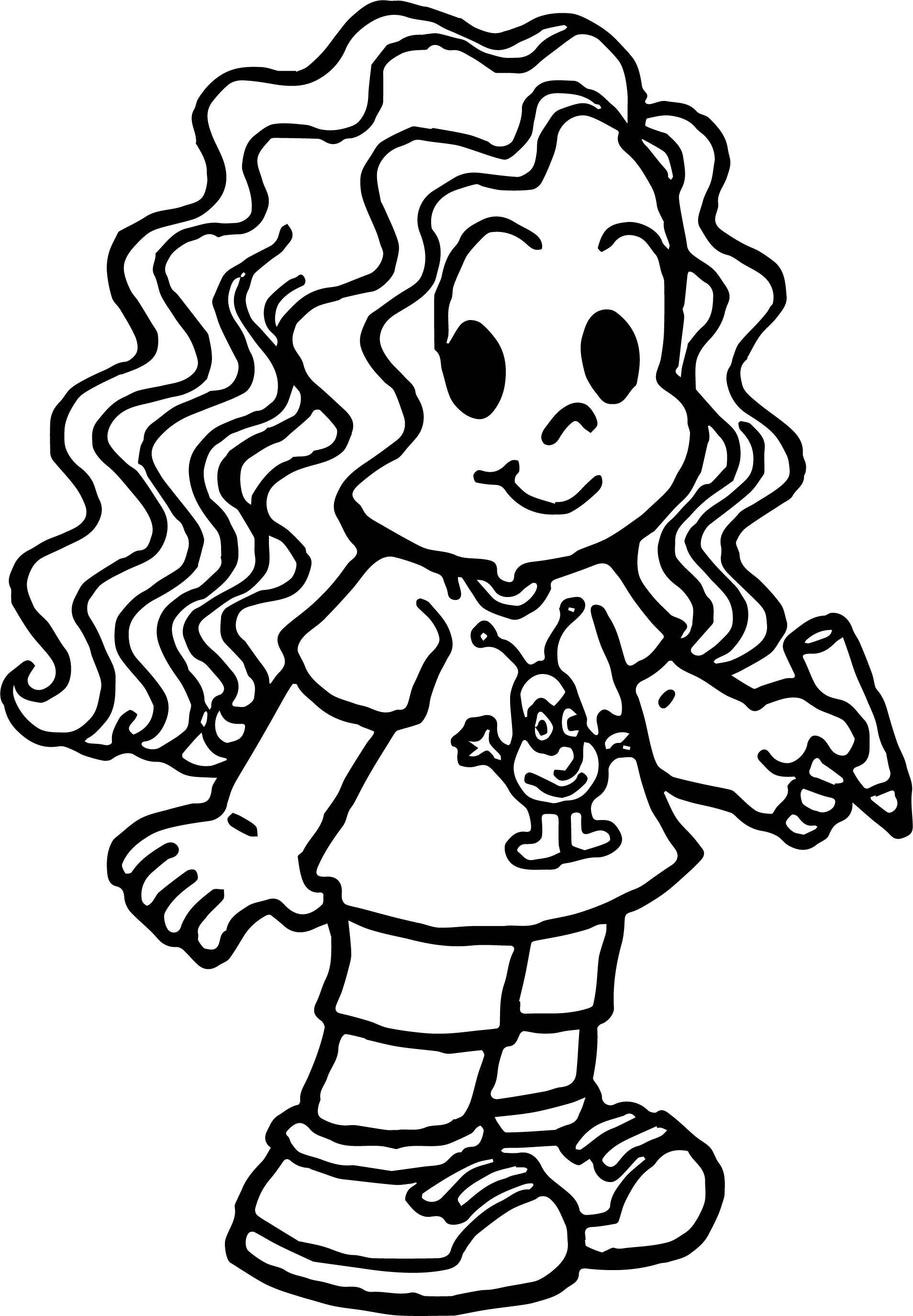 Marina Turma Da Monica Girl Coloring Page Wecoloringpage Com