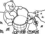 Mawa Kawa Masha And Bear Forest Coloring Page