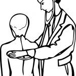 Medical Doctor Coloring Page