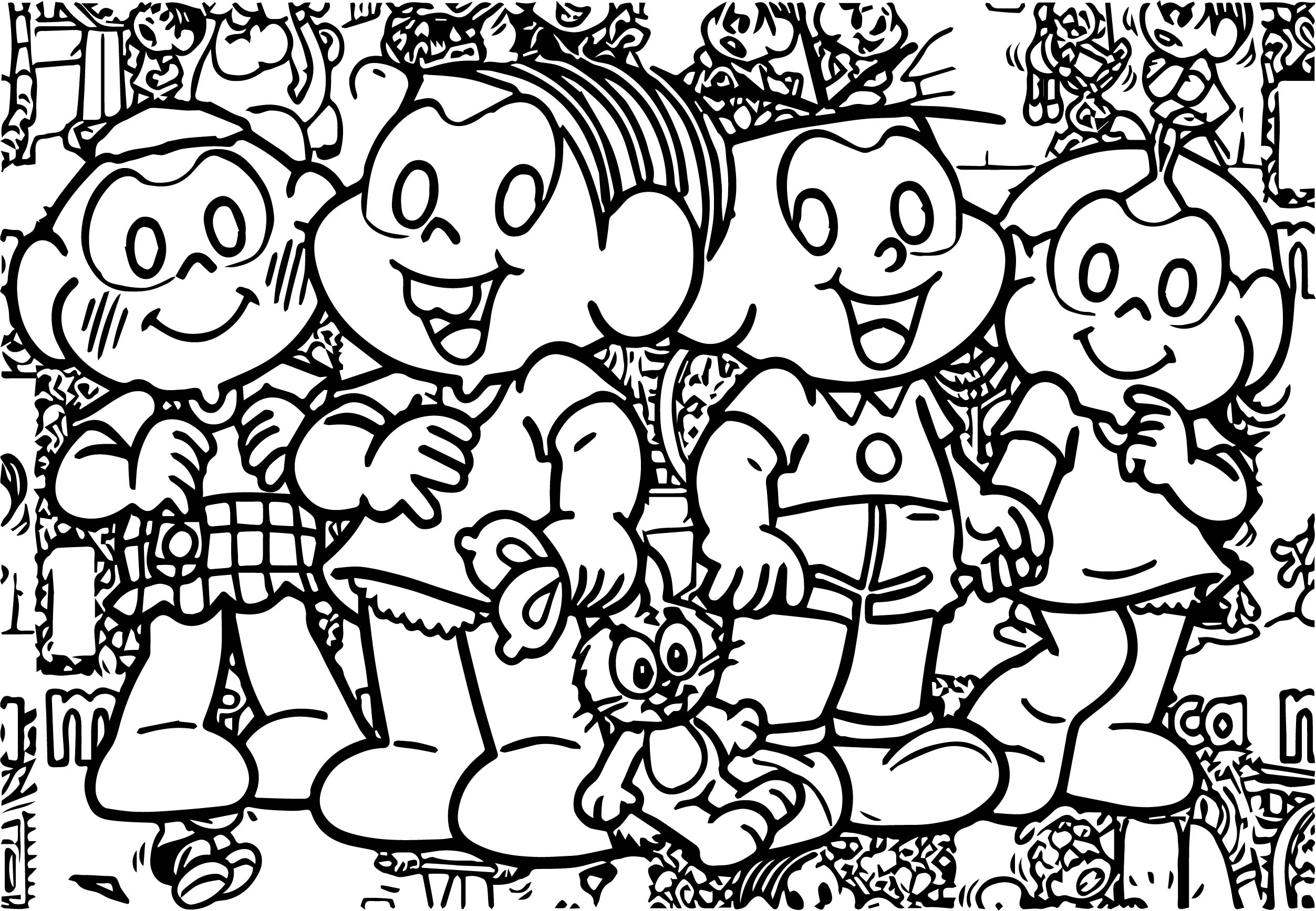 Meet The People Who Inspired The Characters From The Mon Class Coloring Page