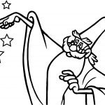 Merlin Wand Coloring Page