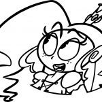 Mighty Magisword Girl Coloring Page
