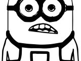 Minion Black Glass Coloring Page