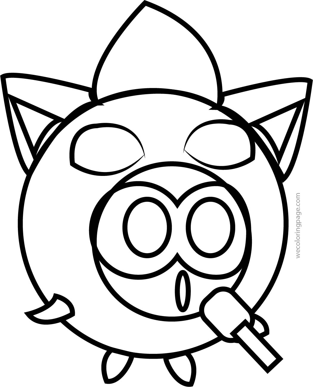 Minion Pikachu Pokemon Circle Coloring Page