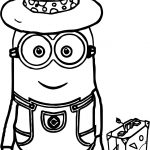 Minions Going Travel Coloring Page
