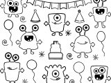 Monster Alien All Character Coloring Page
