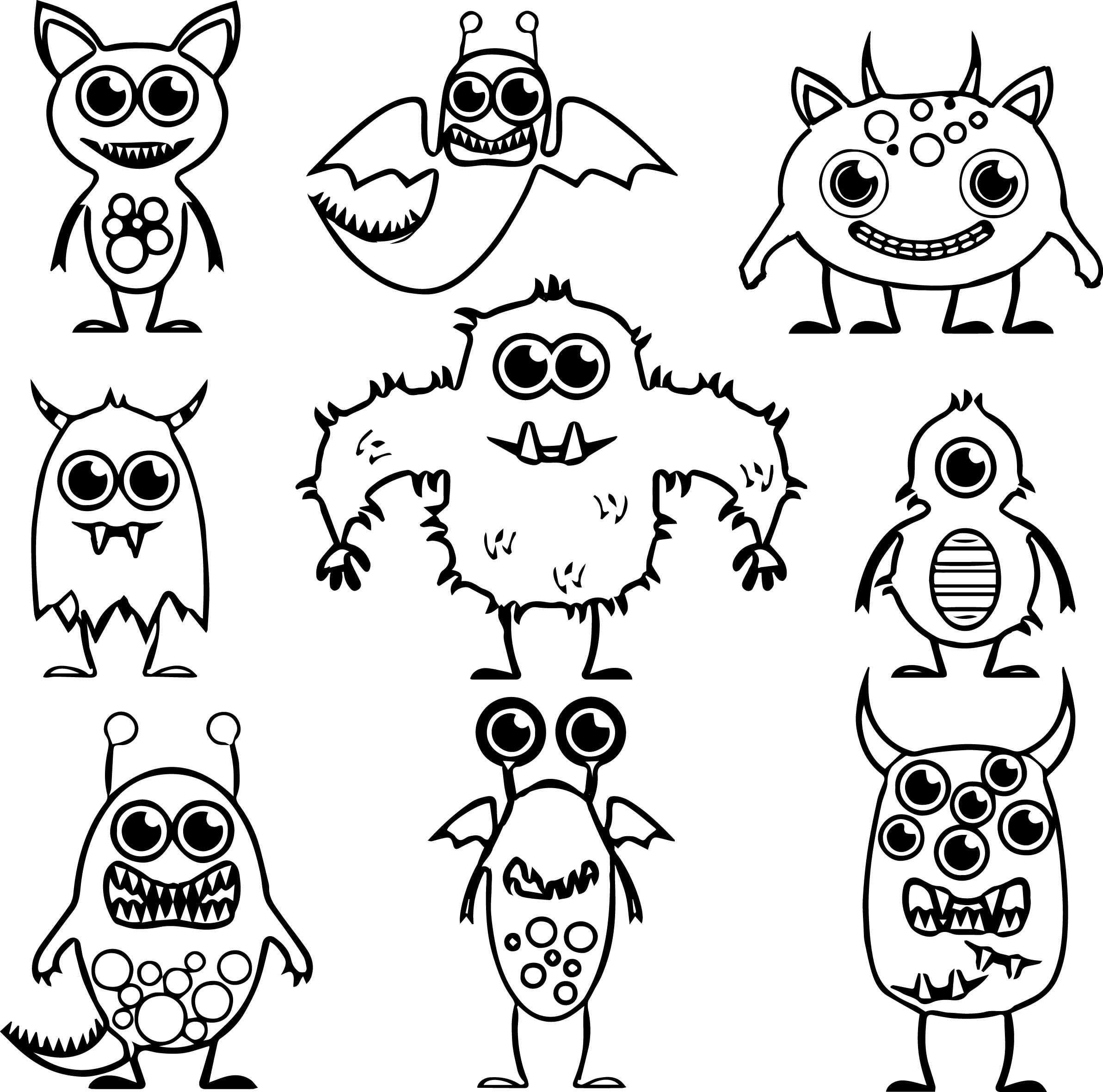 monsters vs aliens coloring pages 18 page monster and