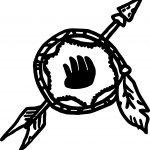 Native American Catcher Coloring Page