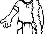Native American Indian Man Coloring Page