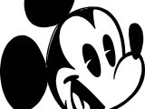 New Mickey Mouse Cartoon Coloring Page
